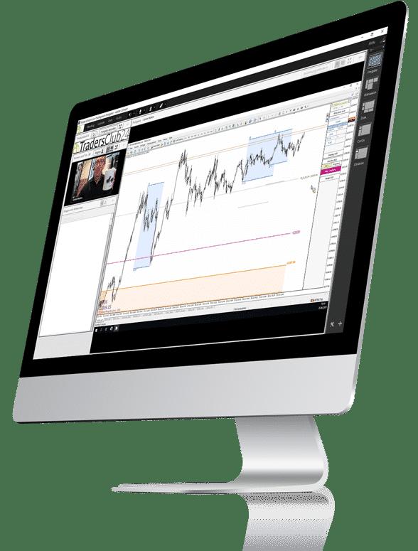 Traden lernen kostenlos & unverbindlich im TradersClub24- Gastzugang zum Live-Tradingraum