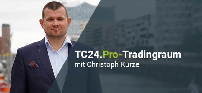 Online Trading mit Cristoph Kurze vom TradersClub24